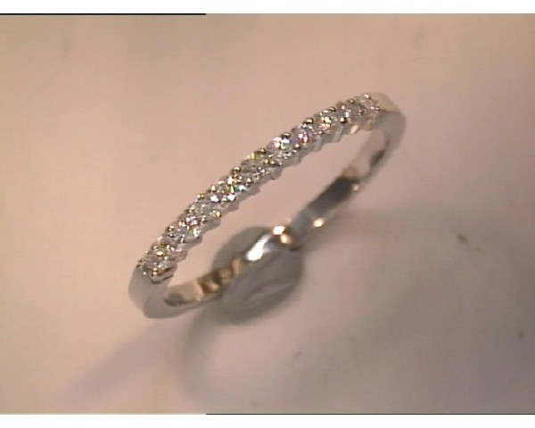 ANILLO DE ORO BLANCO Y BRILLANTES-AN0133