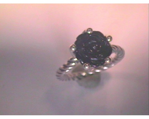 RUPONR ANILLO PLATA ONYX-190843ON-52